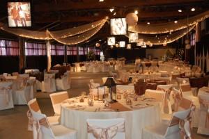 Sarah and Chad's wedding reception