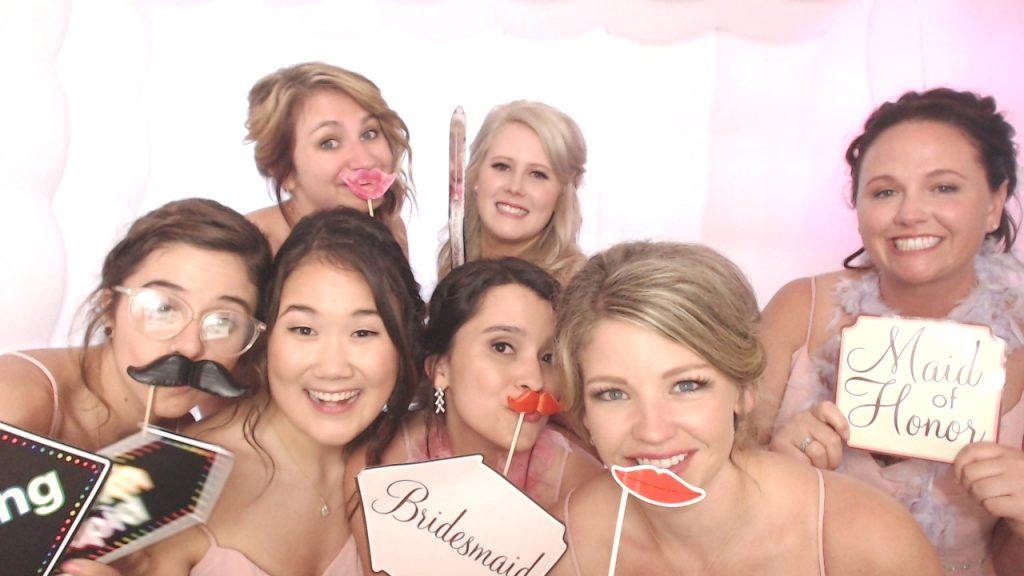 Bridal Party, stick props