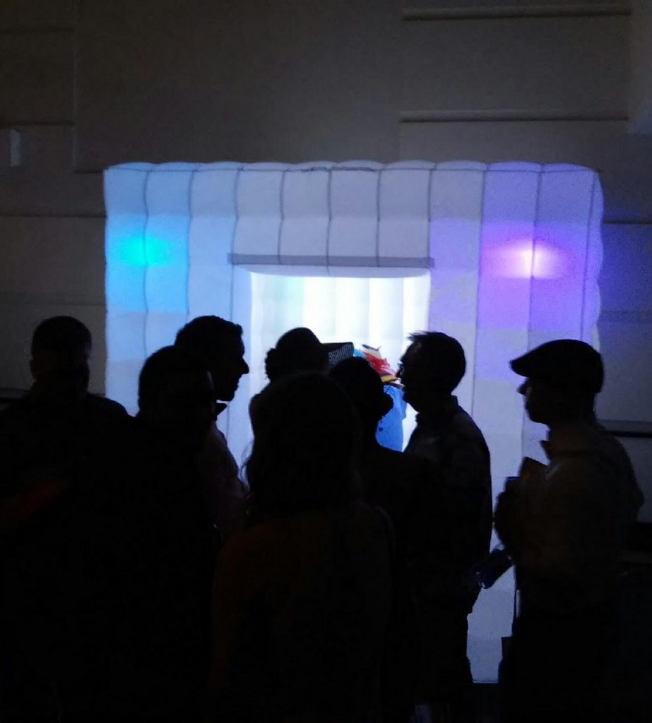 Inflatable photo booth, LED photo booth