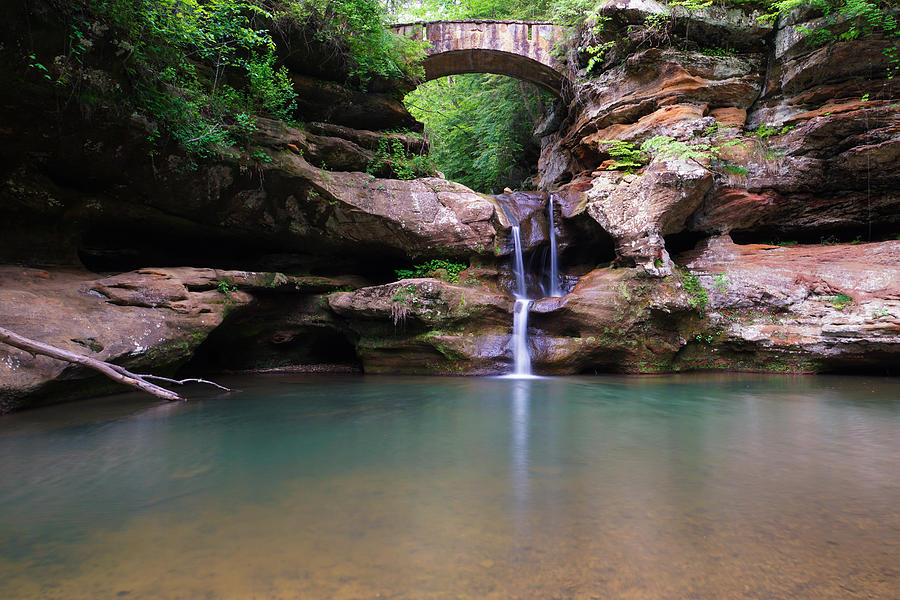 Old Man's Cave at Hocking Hills near Cedar Grove Lodging