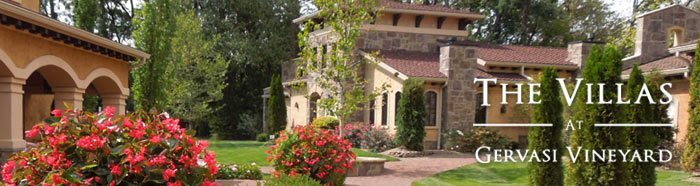 The Villas at Gervasi Vineyard