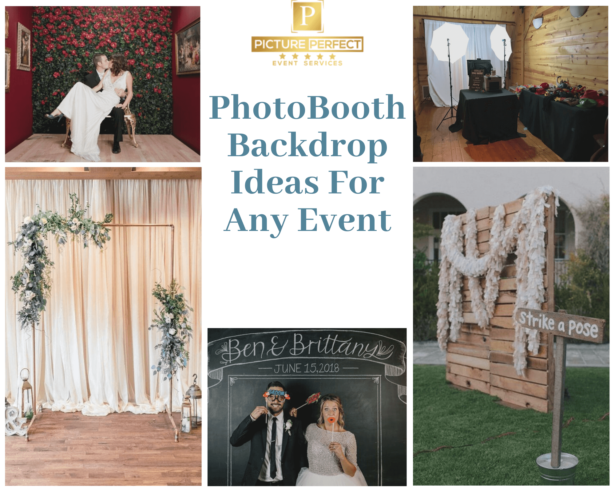 Photo Booth Backdrop Ideas For Any Event Picture Perfect Blog
