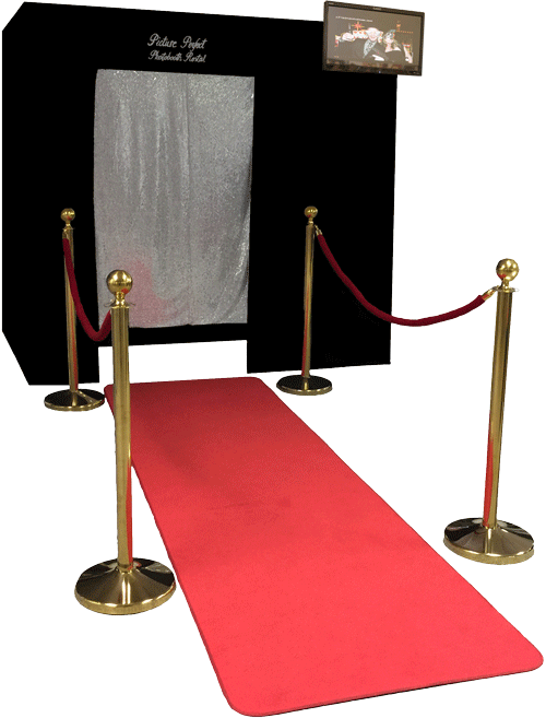 Our External Monitor Option Allows Your Photo Booth To Have An On The Outside