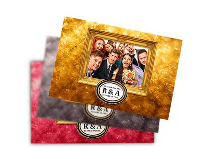 Take your custom designed photo strips to the next level with prints that are 4 inches by 6 inches.
